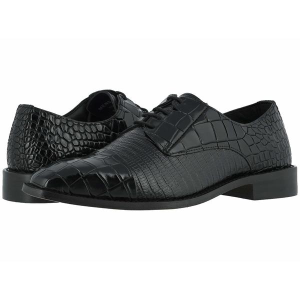 ステイシーアダムス メンズ ドレスシューズ シューズ Talarico Leather Sole Cap Toe Oxford Black