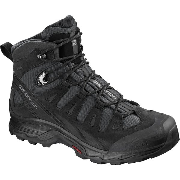 Salomon メンズ シューズ ブーツ レインブーツ 使い勝手の良い Phantom Black Quiet 新品未使用正規品 Shade Backpacking Shoes Prime 全商品無料サイズ交換 サロモン Quest GTX Men's