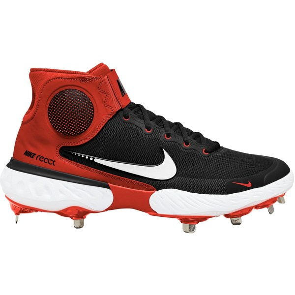 Nike メンズ スポーツ 野球 Black Orange 全商品無料サイズ交換 別倉庫からの配送 ナイキ Mid 3 Elite Baseball Men's ランキングTOP10 Alpha Hurrache Cleats