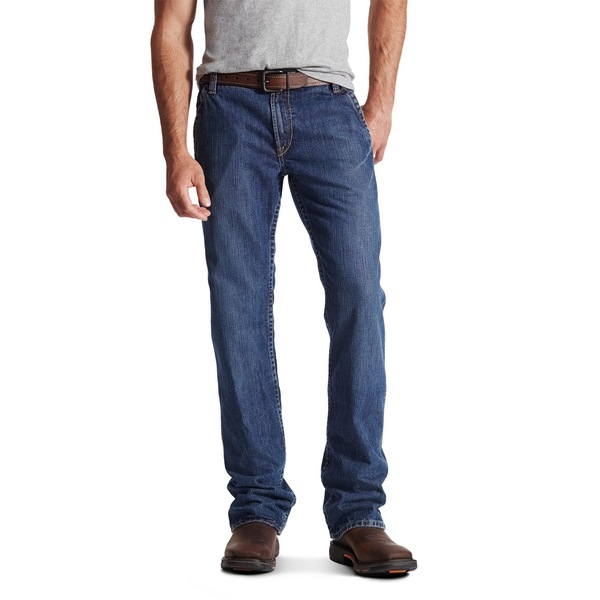 Ariat メンズ ボトムス カジュアルパンツ Blue 01 Jean Men's 全商品無料サイズ交換 アリアト 輸入 M4 商品 Flame-Resistant