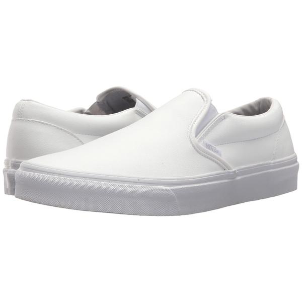 バンズ メンズ スニーカー シューズ Classic Slip-On (Classic Tumble) True White