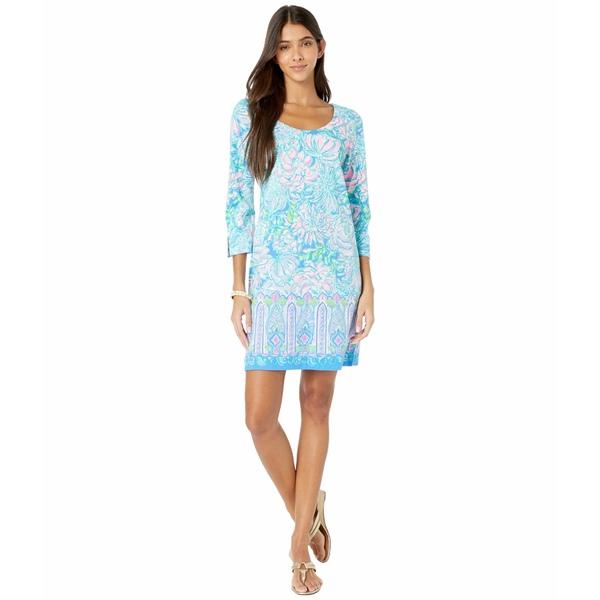 リリーピュリッツァー レディース ワンピース トップス Sherrill Dress Multi In Full Bloom Engineered Knit