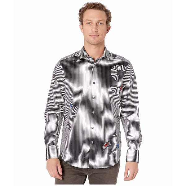 ロバートグラハム メンズ シャツ トップス Chicane Sport Shirt Black