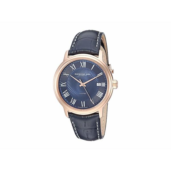 レイモンドウェイル メンズ 腕時計 アクセサリー Maestro - 2237-PC5-00508 Rose Gold/Blue