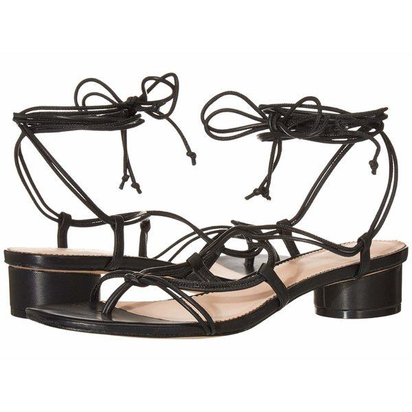 ジェイクルー レディース ヒール シューズ Leather Lace-Up Strappy Alyssa Sandal Black