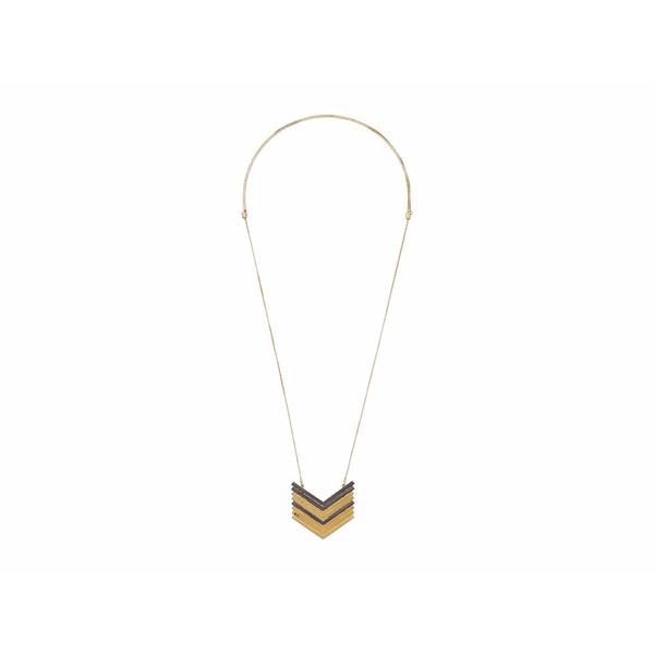 メイドウェル レディース ネックレス・チョーカー・ペンダントトップ アクセサリー Arrowstack Necklace Vintage Gold