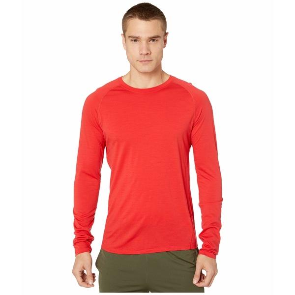 スマートウール メンズ シャツ トップス Merino 150 Baselayer Long Sleeve Cardinal Red