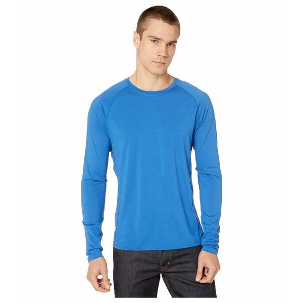 スマートウール メンズ シャツ トップス Merino 150 Baselayer Long Sleeve Light Alpine Blue