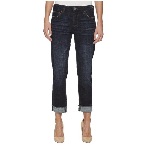 カットフロムザクロス レディース デニムパンツ ボトムス Amy Crop Straight Leg-Roll Up Frey Jeans Acknowledging/Euro Base Wash