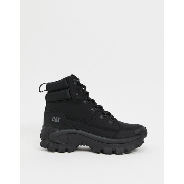 【クーポン対象外】 キャットフットウェア メンズ スニーカー シューズ CAT trespass trespass Black chunky boots in シューズ black Black, 北海道麺SHOP 北の麺ぐるめ:c4aa9ef5 --- rishitms.com