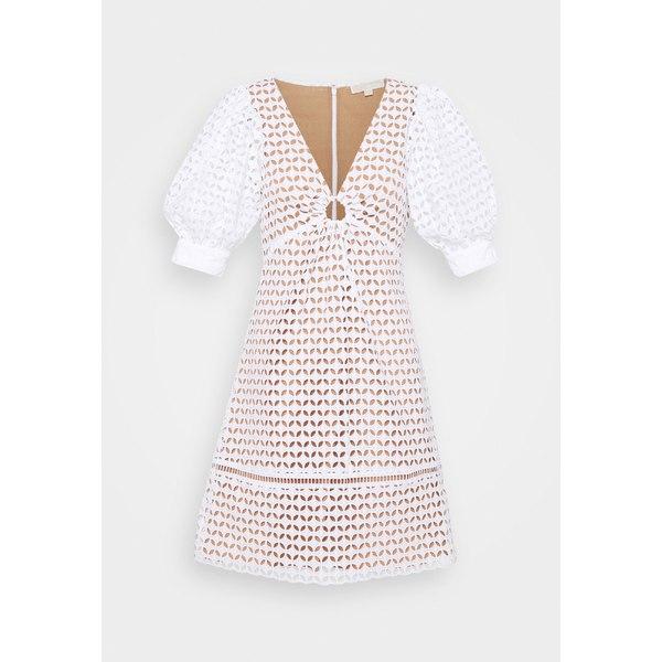 ワンピース GEO Day トップス DRESS EYELET マイケルコース レディース - white osop01ee dress - MINI