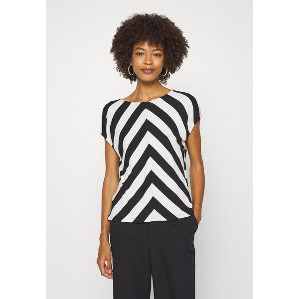 オーパス レディース 超歓迎された トップス Tシャツ 買取 black 全商品無料サイズ交換 Print T-shirt - osop01ee SIDA