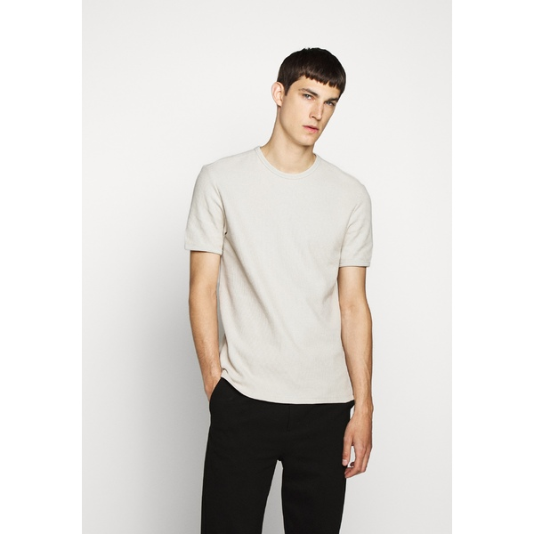 ジェイ リンドバーグ メンズ 在庫一掃 トップス Tシャツ cloud grey T-shirt 日本メーカー新品 MARIO Basic - 全商品無料サイズ交換 osop01ee