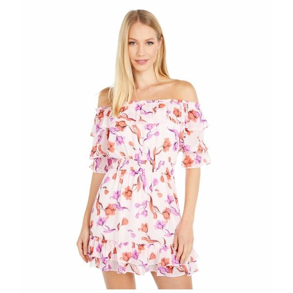 ロストアンドウォーター レディース ワンピース トップス Garden Of Delight Mini Dress Lavender Coral Floral