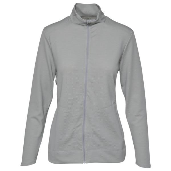 ナイキ レディース ジャケット&ブルゾン アウター DriFIT UV FullZip Golf Jacket Wolf Grey/White/Wolf Grey