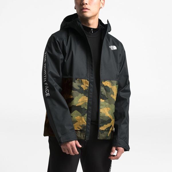 ノースフェイス メンズ ジャケット&ブルゾン アウター Millerton Jacket Tnf Burnt Olive/Tnf Black | Past Season Product