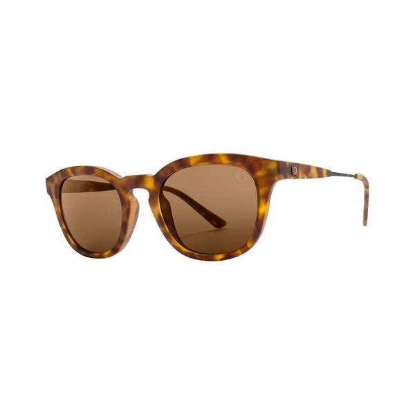 エレクトリック メンズ サングラス・アイウェア アクセサリー LA TXOKO Sunglasses Matte Spotted Tort M BrownEYHDeW9Ib2