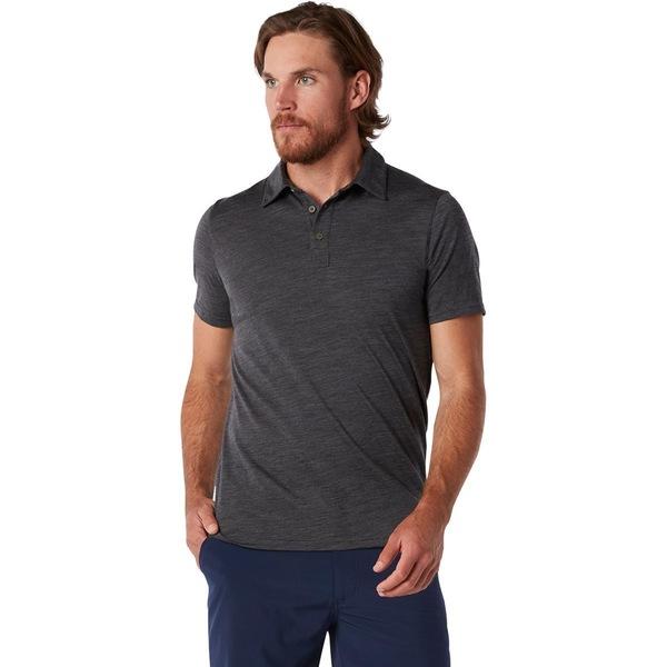 スマートウール メンズ ポロシャツ トップス Merino 150 Polo Shirt - Men's Iron Heather