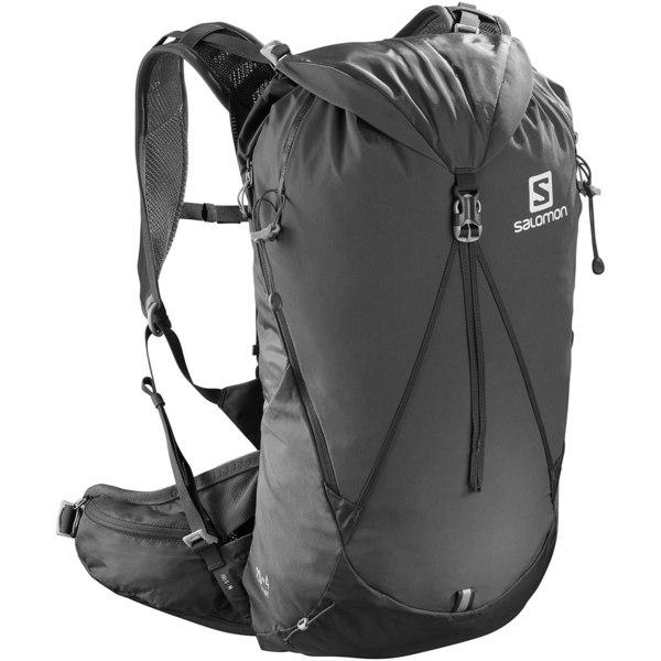 サロモン メンズ バックパック・リュックサック バッグ Out Day 20L+4L Backpack Ebony