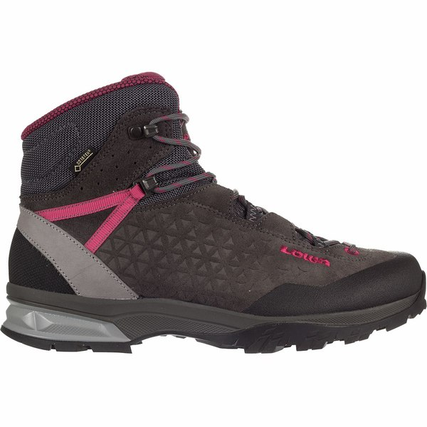 ロア レディース ハイキング スポーツ Sassa GTX Mid Boot - Women's Anthracite/Berry