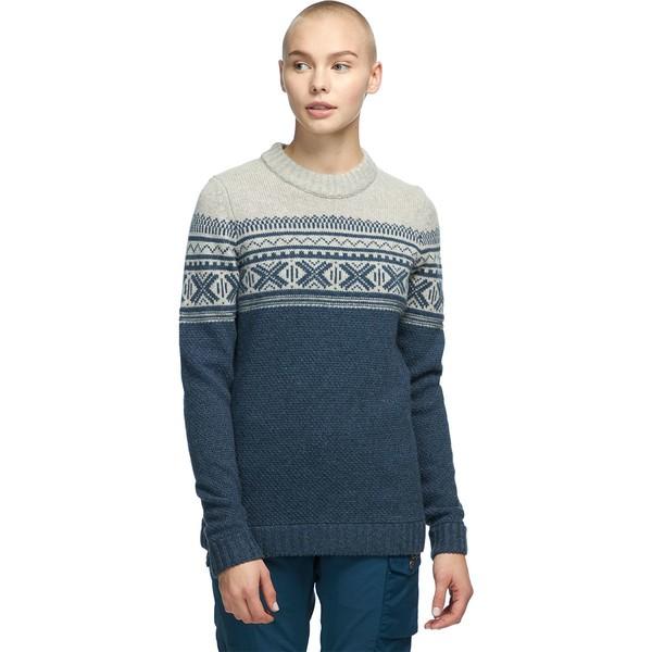 フェールラーベン レディース ニット&セーター アウター Ovik Scandinavian Sweater - Women's Navy