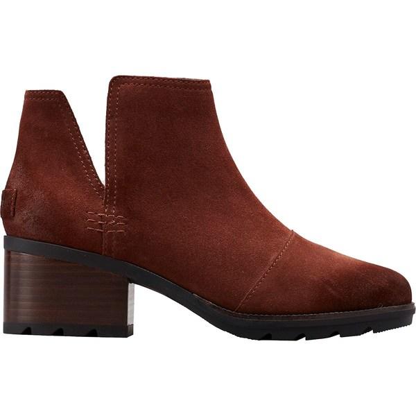 ソレル レディース ブーツ&レインブーツ シューズ Cate Cut Out Boot - Women's Burro