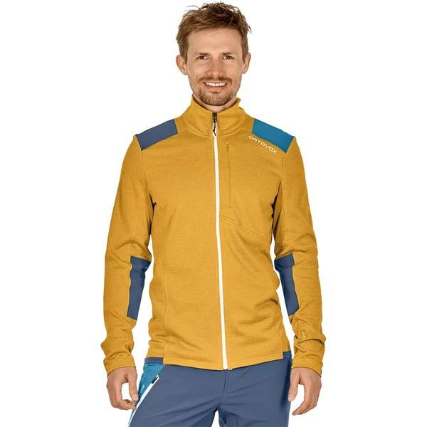 オルトボックス メンズ ジャケット&ブルゾン アウター Merino Fleece Grid Jacket - Men's Yellowstone