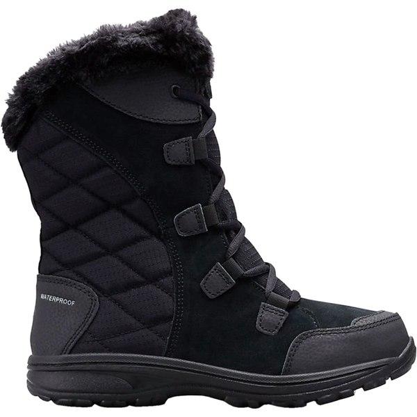 コロンビア レディース ブーツ&レインブーツ シューズ Ice Maiden II Lace Boot - Women's Black/Columbia Grey