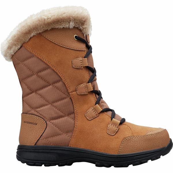 コロンビア レディース ブーツ&レインブーツ シューズ Ice Maiden II Lace Boot - Women's Elk/Black