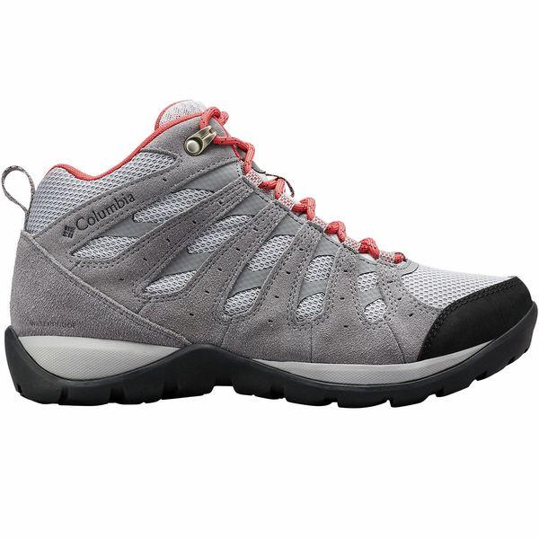 コロンビア レディース ハイキング スポーツ Redmond V2 Mid WP Hiking Boot - Women's Steam/Daredevil