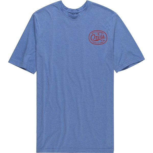オービス メンズ シャツ トップス Drirelease Short-Sleeve Label Logo Shirt - Men's Bright Cobalt