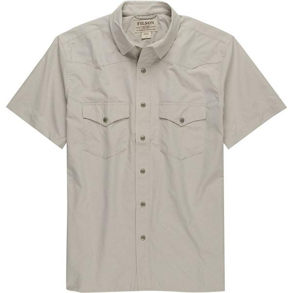 フィルソン メンズ シャツ トップス Snap Front Short-Sleeve Shirt - Men's Sandstone