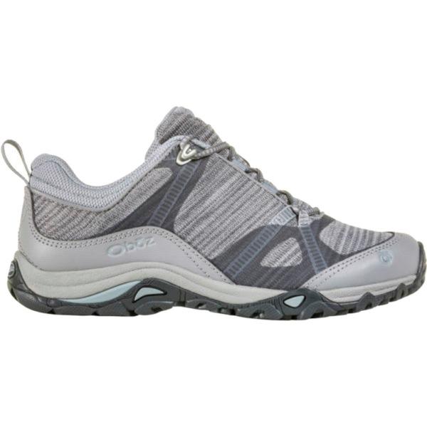 オボズ レディース スニーカー シューズ Lynx Low Hiking Shoe - Women's Frost Gray/Tradewinds Blue