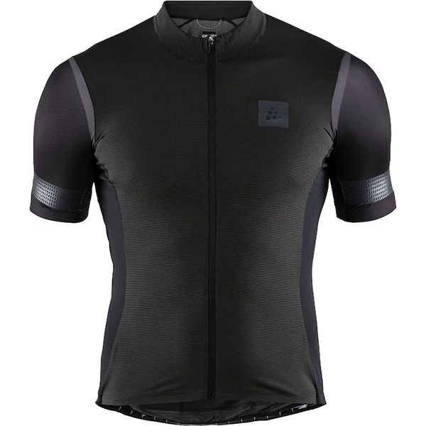 クラフト メンズ サイクリング スポーツ Hale Glow Jersey - Men's Black