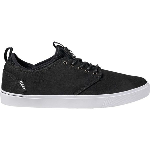 リーフ メンズ スニーカー シューズ Reef Discovery Sneaker - Men's Black/White