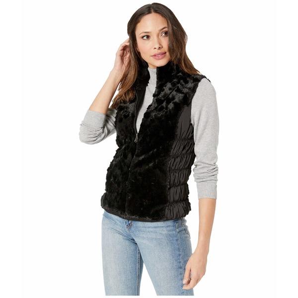 スカーリー レディース コート アウター Reversible Ultra Soft Vest Black