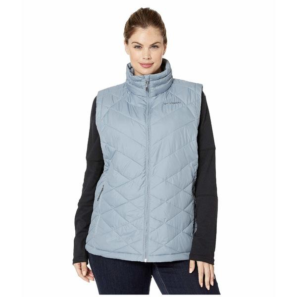 コロンビア レディース コート アウター Plus Size Heavenly Vest Tradewinds Grey