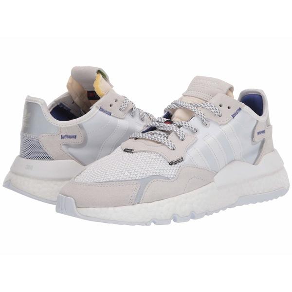 アディダスオリジナルス メンズ スニーカー シューズ Nite Jogger Footwear White/Footwear White/Footwear White