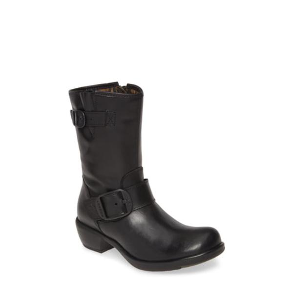 フライロンドン レディース ブーツ&レインブーツ シューズ Myst Bootie Black Leather