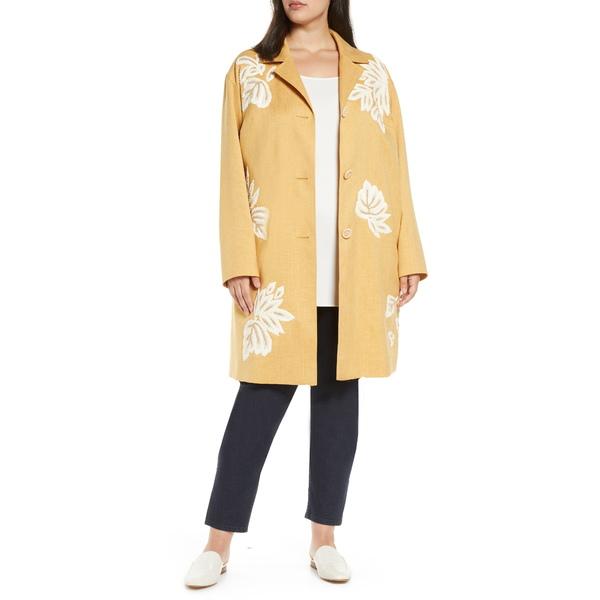 ラファイエットワンフォーエイト レディース ジャケット&ブルゾン アウター Myer Embellished Car Coat Marigold Melange