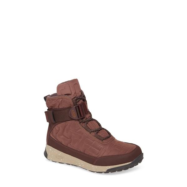 チャコ レディース スニーカー シューズ Borealis Quilt Waterproof Sneaker Boot Mahogany Fabric