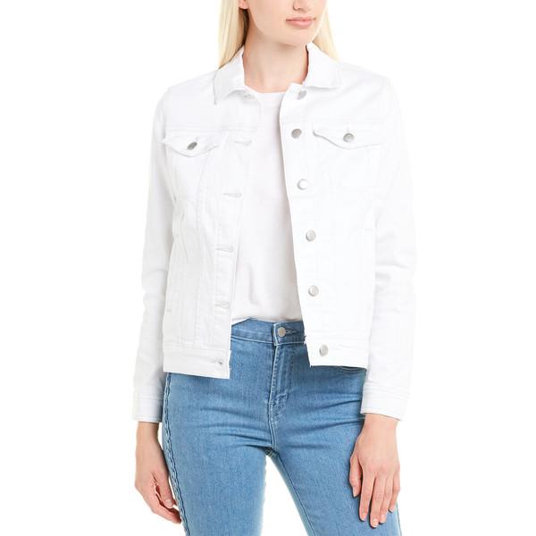 ジョーズジーンズ レディース アウター 年間定番 ジャケット ブルゾン ☆新作入荷☆新品 white 全商品無料サイズ交換 JOE'S Denim Jeans Relaxed Jacket