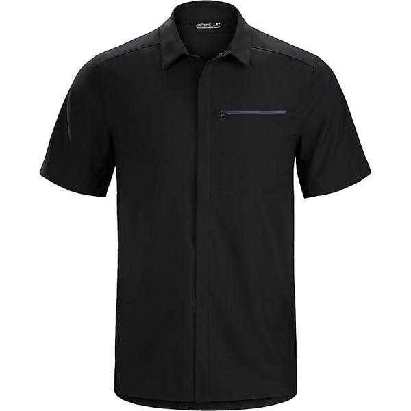 アークテリクス メンズ シャツ トップス Arcteryx Men's Skyline SS Shirt Black