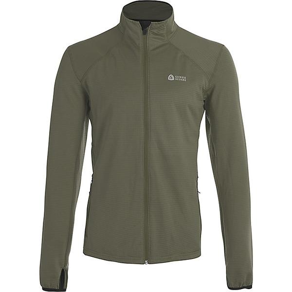 シェラデザインズ メンズ ジャケット&ブルゾン アウター Sierra Designs Men's Cold Canyon Full Zip Fleece Olive/Black