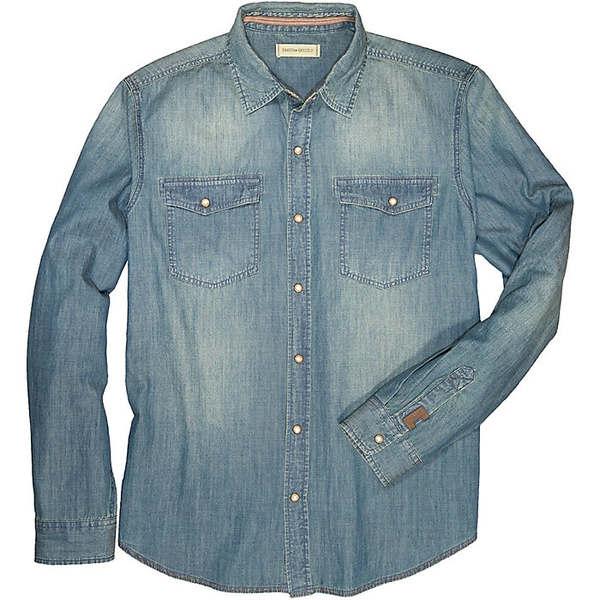ダコタグリズリー メンズ シャツ トップス Dakota Grizzly Men's Fremont LS Shirt Denim