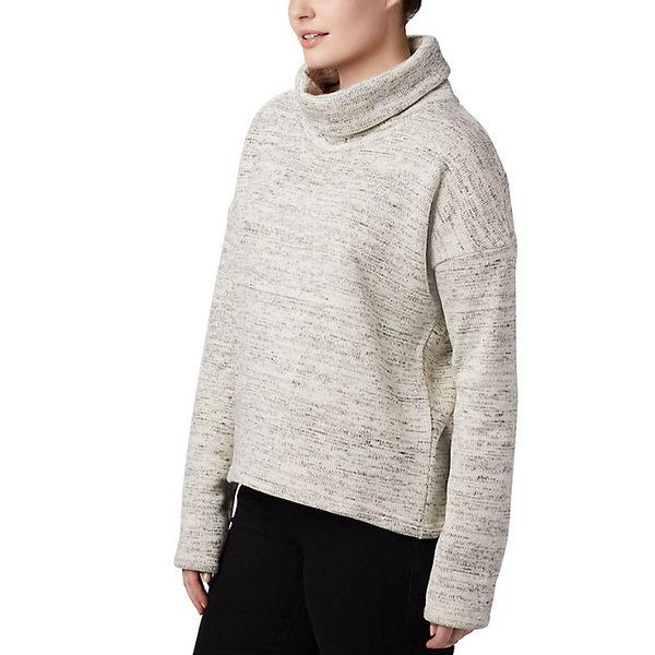 コロンビア レディース ジャケット&ブルゾン アウター Columbia Women's Chillin Fleece Pullover Chalk
