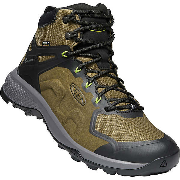 <title>キーン メンズ スポーツ ハイキング Dark Olive Army 全商品無料サイズ交換 KEEN 国際ブランド Men's Explore MID WP Boot</title>