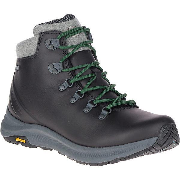 メレル メンズ ブーツ&レインブーツ シューズ Merrell Men's Ontario Thermo Mid Waterproof Boot Black