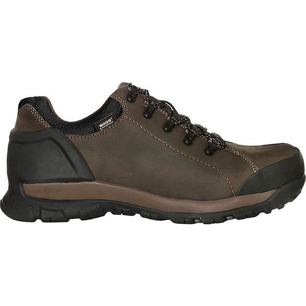 ボグス メンズ ブーツ&レインブーツ シューズ Bogs Men's Foundation Leather Low Rise Soft Toe Shoe Brown