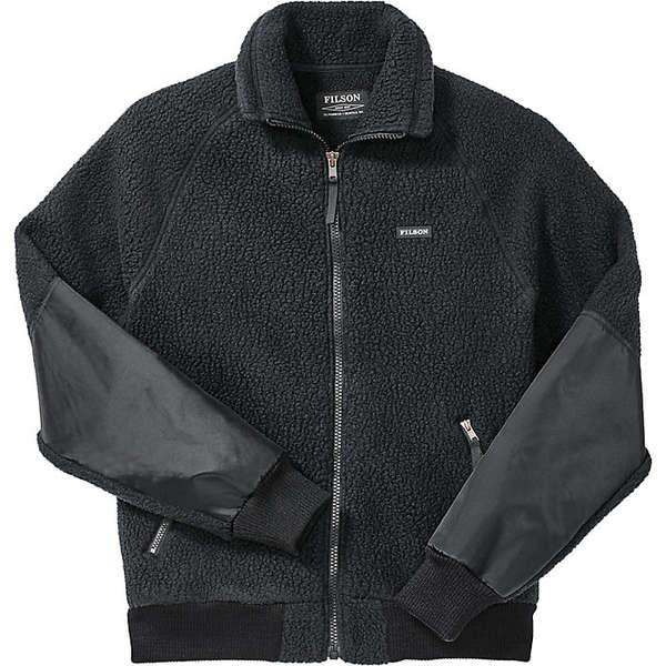 フィルソン メンズ ジャケット&ブルゾン アウター Filson Men's Sherpa Fleece Jacket Black